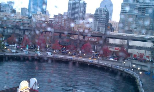 From atop the Great Wheel - Seattle