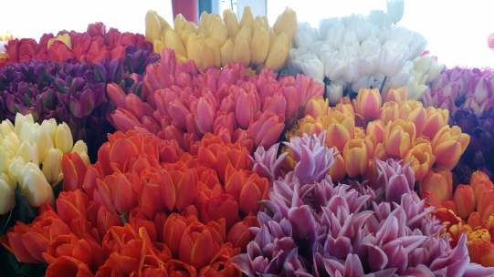 Flowers at Pike Place Market, Seattle