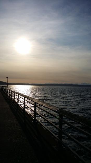 Des Moines Marina - the pier